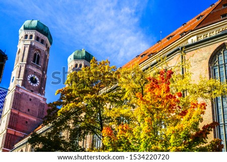 frauenkirche our lady church in the center of old town in dres stock photo © vladacanon