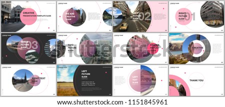 modern minimal brochure design template Stock photo © SArts