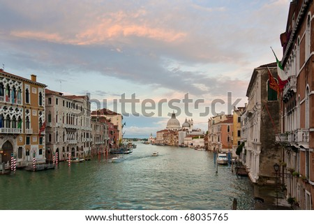 Vaporetto outside the grand canal Stock photo © t3mujin