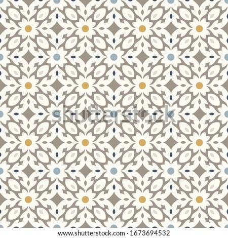Moroccan tiles vector pattern, Moorish seamless design in black, Geometric abstract tiles   Stock photo © RedKoala