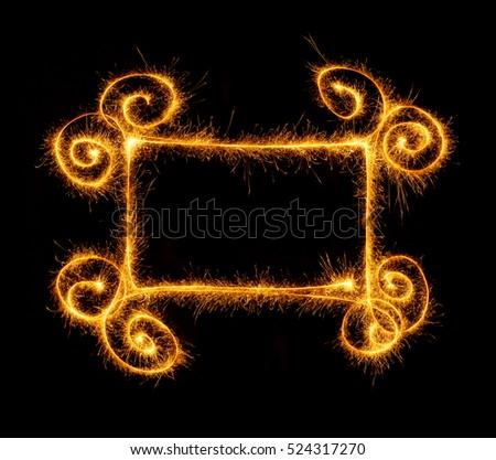 кадр готовый черный знак ночь золото Сток-фото © vlad_star