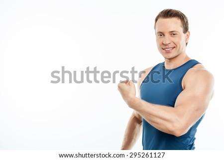 Kas erkek kol kas poz kafa Stok fotoğraf © jeff_hobrath