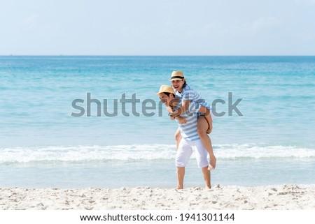 男 · 女性 · 愛 · 一緒に · 海 - ストックフォト © ElenaBatkova