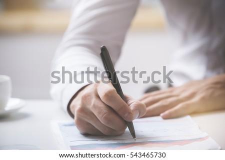 vrouw · aanvrager · schrijven · toepassing · vorm - stockfoto © freedomz