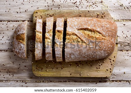 artisan spelt bread Stock photo © nito