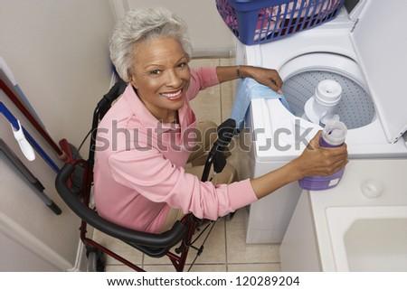 Widoku aktywny starszy kobieta Zdjęcia stock © wavebreak_media