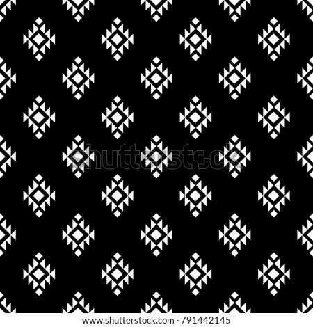 Vector seamless pattern. Ethnic stylish abstract texture. Repeating geometric tiles Stock photo © samolevsky