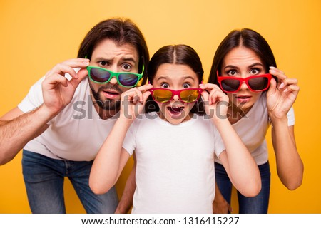 happy fathers day nice background with spectacles and mustache Stock photo © SArts