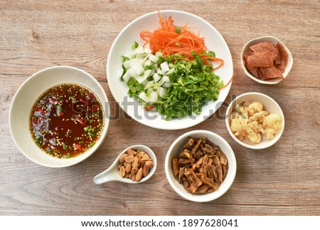 infredients for baking Stock photo © tycoon