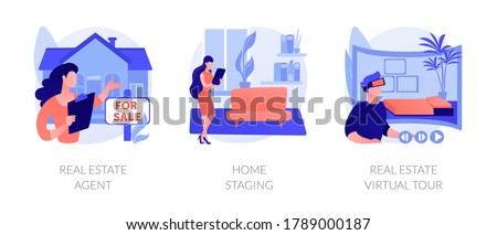 不動産 買い 経験 抽象的な ベクトル イラスト ストックフォト © RAStudio