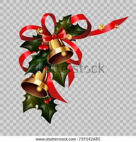 Рождества · красный · лук · листьев - Сток-фото © loopall