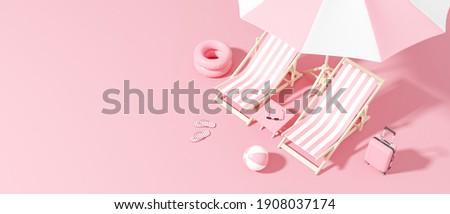Summer accessories stock photo © blanaru