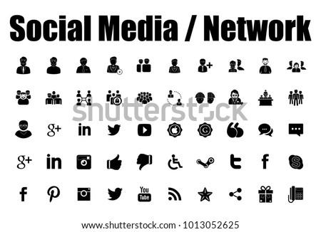 soyut · sosyal · medya · kabarcıklar · vektör · ağ · konferans - stok fotoğraf © burakowski