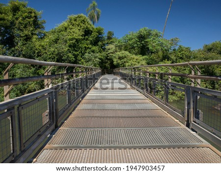 Wooden walkway in a park  Stock photo © Nejron