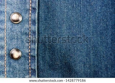 Blauw denim jeans top geïsoleerd Stockfoto © dariazu