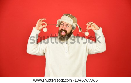 Portret volwassen knap vent najaar Stockfoto © majdansky