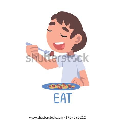 Education word on plate Stock photo © fuzzbones0