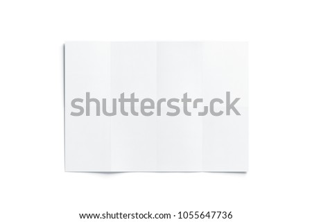 top view of paper sheet stock photo © elisanth