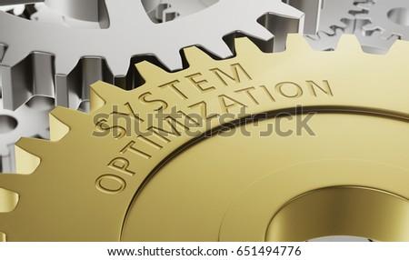 металл Gear Колеса оптимизация 3D Сток-фото © Zerbor