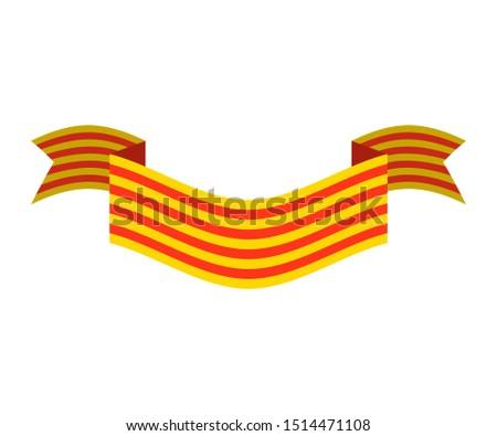 Zászló térkép szalag szalag szimbólum háttér Stock fotó © popaukropa