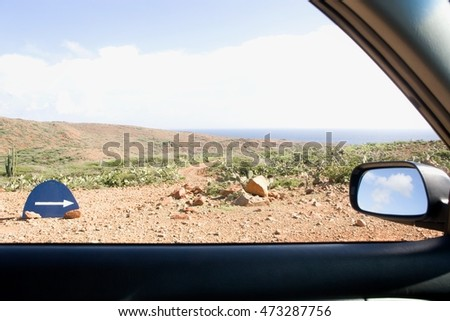 Arikok National Park, Aruba, Lesser Antilles, West Indies Stock photo © IS2