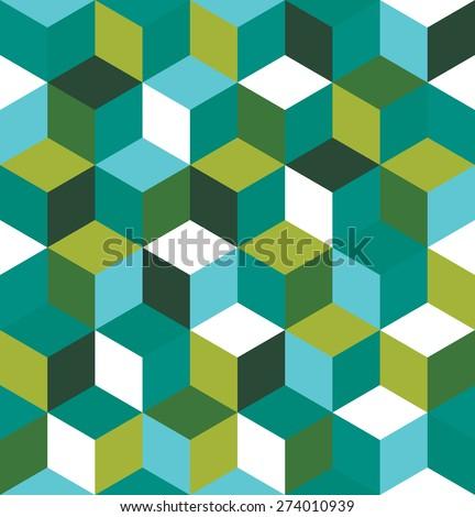 キューブ 緑 抽象的な 子供 ストックフォト © Natali_Brill