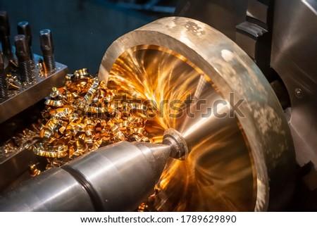 operational maintenance   mechanism of shiny metal cogwheels 3 stock photo © tashatuvango