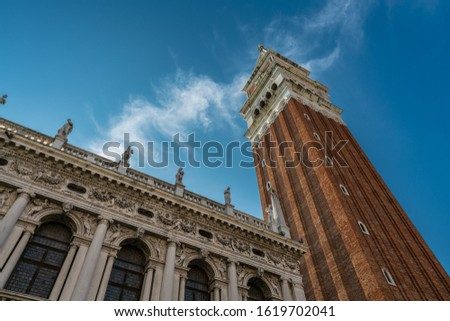 St Mark's Campanile bell tower in Venice, Italy Stock photo © boggy