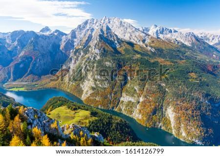 озеро Германия природного высокий гор Extreme Сток-фото © borisb17