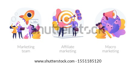 Promotional illustration for advertising profession of a videographer. Stock photo © ConceptCafe