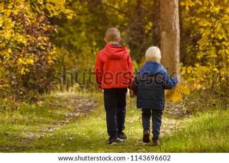 Rouge veste illustration heureux enfants Photo stock © bluering