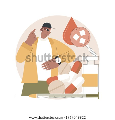 Diabetes mellitus vector concept metaphor Stock photo © RAStudio