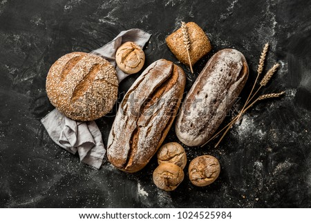 Delicious freshly baked bread  Stock photo © grafvision
