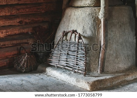 old slavonic food Stock photo © olira