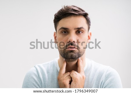 Patient Doing Lymph Examination  Stock photo © AndreyPopov