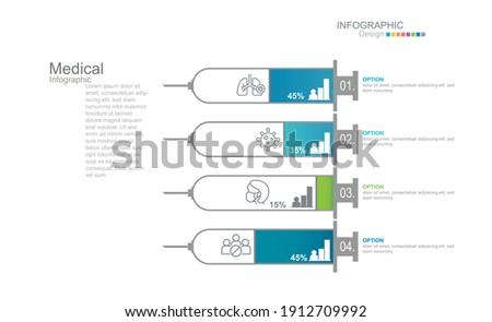 Farbenreich Diagramm Vorlage Timeline Optionen Stock foto © ukasz_hampel