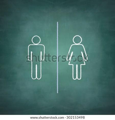 Opportunità uomo donna lato donne lavoro Foto d'archivio © lightpoet