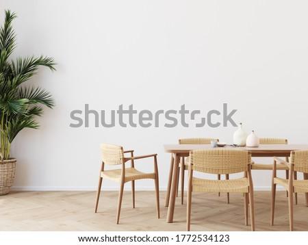 oda · pencere · tablo · mobilya · sandalye - stok fotoğraf © sarkao