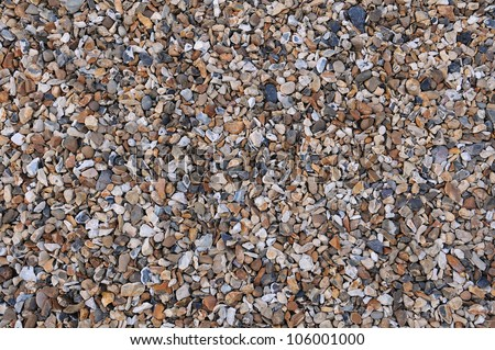 Abstract background of pebbles on a beach with plenty of copy sp Stock photo © inxti