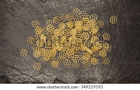 Italiaans pasta steen achtergrond Stockfoto © mcherevan