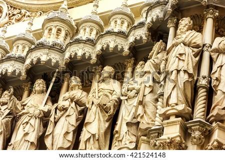 manastır · pencereler · balkon · manastır - stok fotoğraf © digoarpi