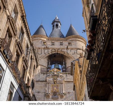 Grosse cloche in Bordeaux Stock photo © benkrut
