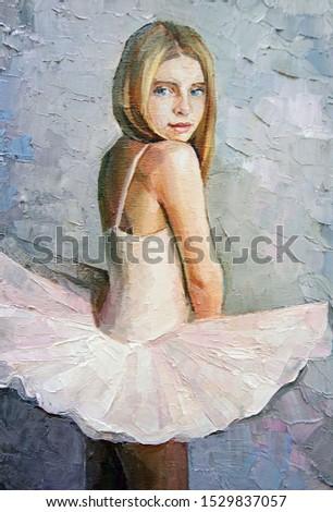 Charmant jong meisje roze jurk grijs hand Stockfoto © Traimak