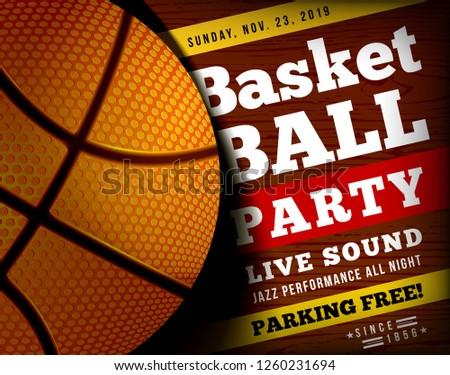 Koszykówki strony piłka puszka używany Zdjęcia stock © m_pavlov