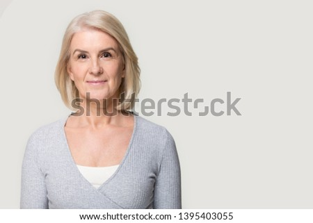 Headshot Portrait of Attractive Caucasian Woman Stock photo © feverpitch