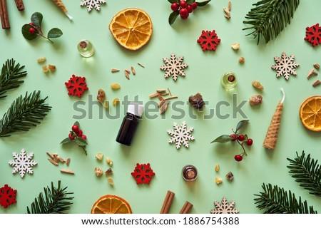 Photo stock: Bouteilles · lavande · autre · herbes · blanche