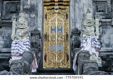 Photo stock: Détail · temple · goa · bâtiment · design