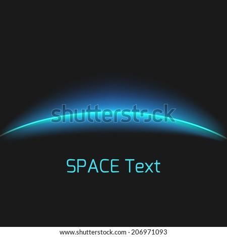 Vektor Planeten Erde sunrise dunkel Raum blau Stock foto © Iaroslava