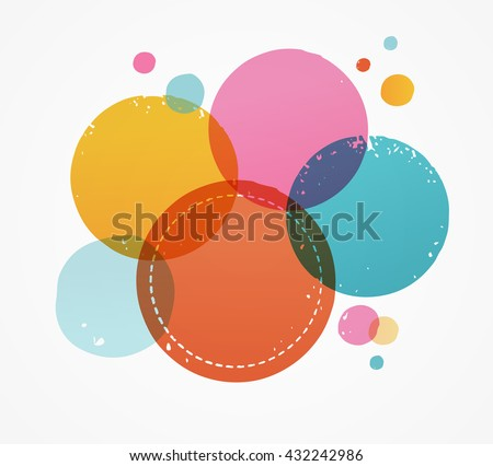abstract · aquarel · geometrisch · patroon · water · onderwijs - stockfoto © marish