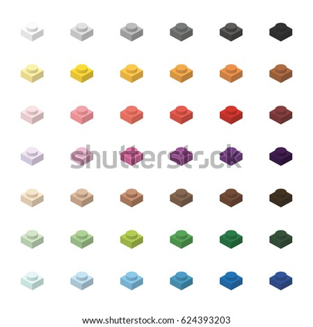 детей · кирпичных · игрушку · простой · цвета · спектр - Сток-фото © ukasz_hampel